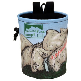 Metolius Access Fund Comp Chalk Bag Yosemite